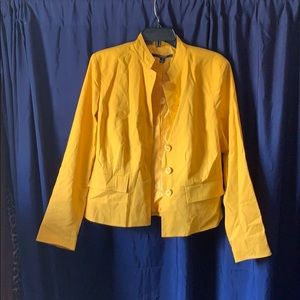 ⭐️SALE⭐️ Yellow Blazer